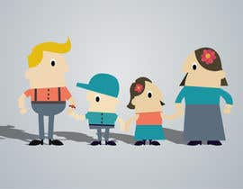 Indiasearchpages tarafından Design a cartoon family için no 39
