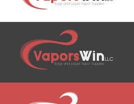 #24 untuk Design a Logo for vapors win LLC oleh markshutter