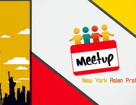 #7 untuk Design a Banner and Background for a Meetup page oleh Mohamedsaa3d