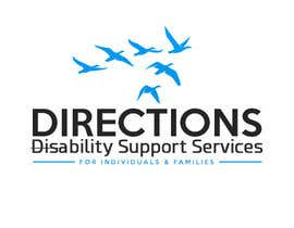 #413 untuk Design a Logo for Directions Disability Support Services oleh sinzcreation