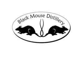 HAJI5 tarafından Design a Logo for Black Mouse Distillery için no 40