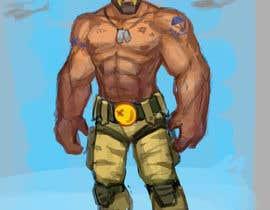 #26 untuk Create a muscular Military character/mascot. oleh slashcl