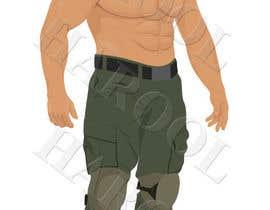 #23 untuk Create a muscular Military character/mascot. oleh harool