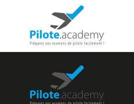 #5 untuk Concevez un logo pour un site d'examens en ligne de pilotes d'avion oleh delim82