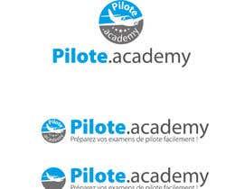 #25 untuk Concevez un logo pour un site d'examens en ligne de pilotes d'avion oleh delim82