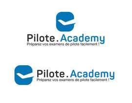 #27 untuk Concevez un logo pour un site d'examens en ligne de pilotes d'avion oleh boutalbisofiane