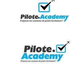#39 untuk Concevez un logo pour un site d'examens en ligne de pilotes d'avion oleh Pixali