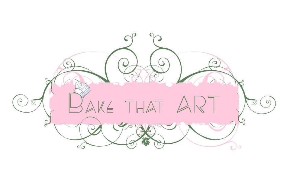 Penyertaan Peraduan #19 untuk New logo for Bake That Art facebook homepage