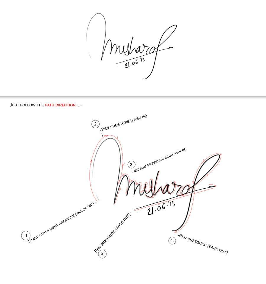 Hand Signature Design The Image Kid Has It