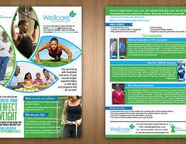 teAmGrafic tarafından Design a 2-sided Flyer(Front & Back) for Weight Loss Program için no 4