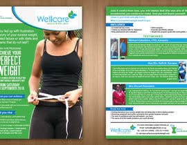 teAmGrafic tarafından Design a 2-sided Flyer(Front & Back) for Weight Loss Program için no 5