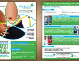 teAmGrafic tarafından Design a 2-sided Flyer(Front & Back) for Weight Loss Program için no 6