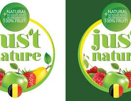 "dilpora tarafından Design a logo for our fruit juice brand: ""Nature Jus't"" için no 91"