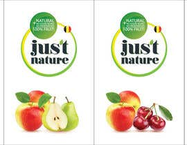 "dilpora tarafından Design a logo for our fruit juice brand: ""Nature Jus't"" için no 101"