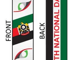 #19 untuk Design UAE National Day Scarf oleh zeddcomputers