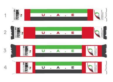 #10 untuk Design UAE National Day Scarf oleh PyramidsGraphic