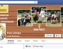 #22 for Design a Facebook Timeline Banner for Poni.ee by rkbhiuyan