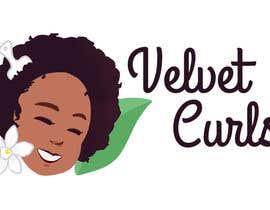 #31 untuk Velvet Curls logo oleh staceyabidi