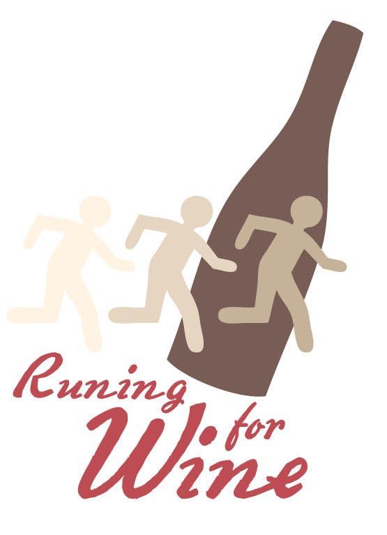 Bài tham dự cuộc thi #                                        12                                      cho                                         Design a Logo for Runnin for Wine