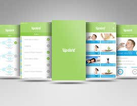 Nayemhasan09 tarafından Design an App Mockup for A Goal App için no 17