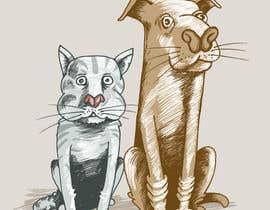 #30 untuk Cat and Dog Cartoon oleh kunjanpradeep