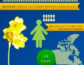 #4 for Flower infographic by CarolineMagget