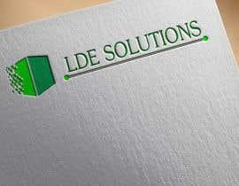 """Junaidy88 tarafından Diseñar un logotipo para """"LDE SOLUCIONES"""" için no 17"""