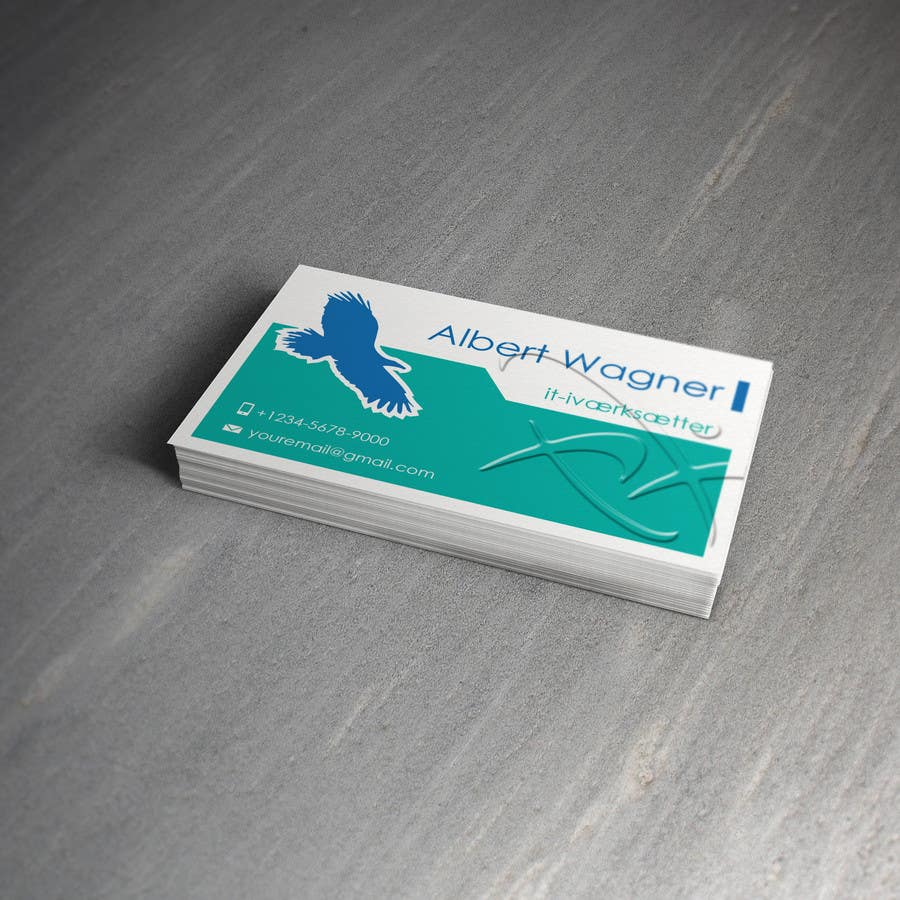 #39 for Personal business card for it-entrepreneur by raywind
