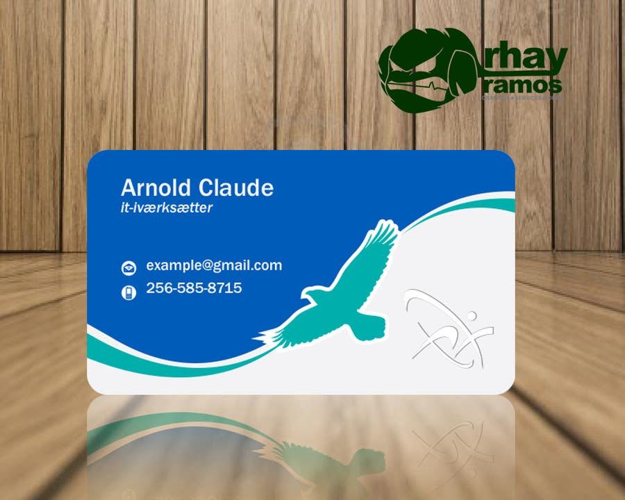 #35 for Personal business card for it-entrepreneur by rhayramos11