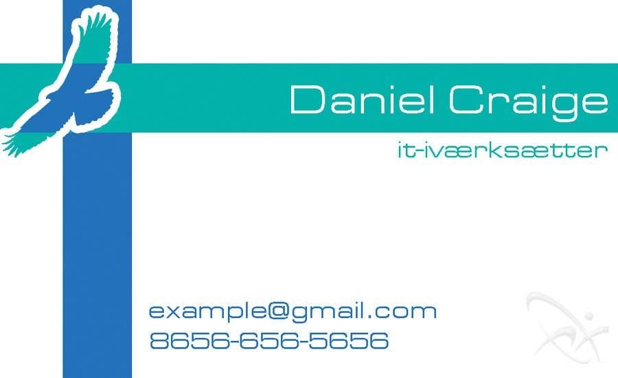 #24 for Personal business card for it-entrepreneur by awaisinayat