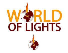 nº 7 pour Need new logo for my company; World of Lights par andrewfisk