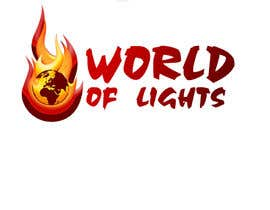 nº 20 pour Need new logo for my company; World of Lights par andrewfisk
