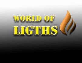 nº 41 pour Need new logo for my company; World of Lights par Nedland