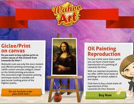 #7 for Design a Banner for Selling oil paintings and Posters by chithrarahul