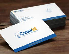 #44 untuk Design some Business Cards for Carrerist oleh BikashBapon
