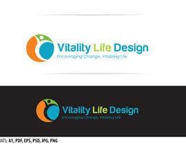 #7 untuk Design a Logo for Vitality Life Design oleh oldestsebi
