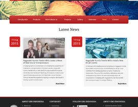 #18 for Corporate Microsite Redesign by thimsbell
