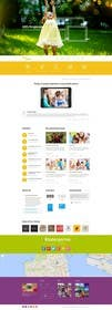 Nihadricci tarafından Design a Website Mockup for Children Party & Entertainment için no 25