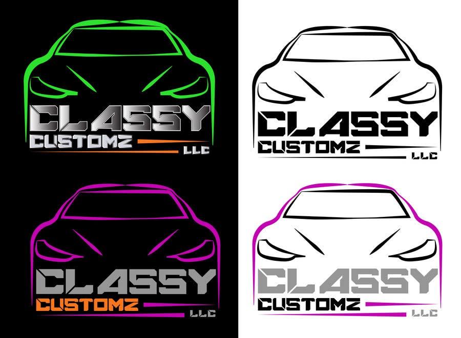Penyertaan Peraduan #98 untuk Design a Logo for Classy Customz, LLC