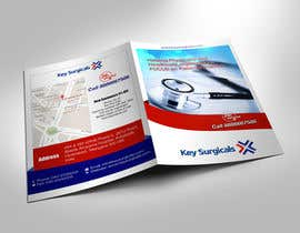stylishwork tarafından Design a bi-fold marketing brochure template for Hospital Supplies provider için no 5
