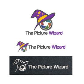 "#9 untuk Design a Logo for ""The Picture Wizard"" oleh Jhapz21"