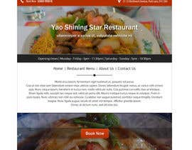#9 untuk Design a Website Mockup for a  Chinese restaurant oleh vw8176980vw