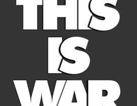 975 for typography i need the words this is war