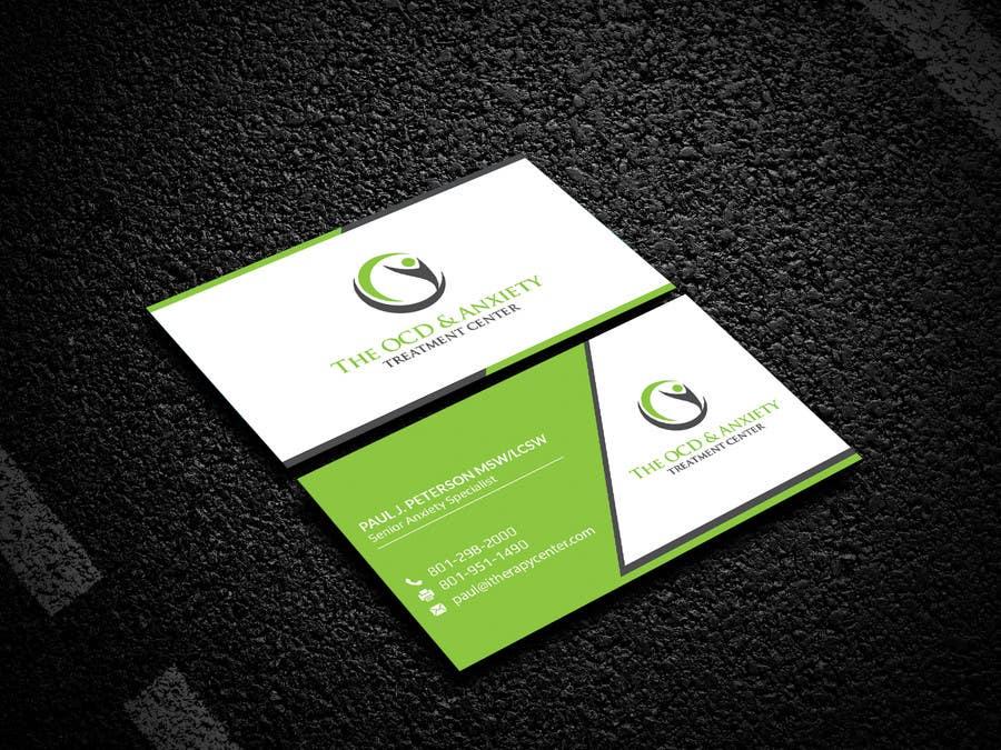 Penyertaan Peraduan #67 untuk Business Card Design