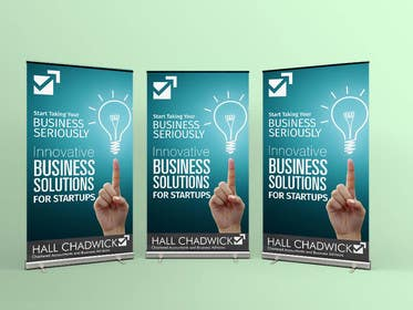 #36 untuk Design a Banner for Hall Chadwick oleh sameer6292