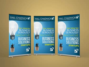 #40 untuk Design a Banner for Hall Chadwick oleh sameer6292