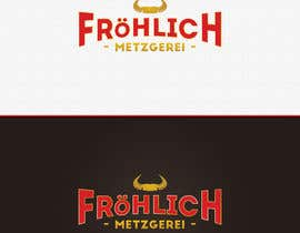#6 untuk Professional logo for a butcher's shop - winner has chance of designing brochure, business cards, etc. oleh ivanovic910