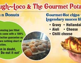 #3 untuk Design a Banner for Dough-loco & the gourmet potato 1 oleh dksharma141