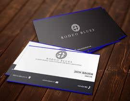 #28 untuk Design Business Cards for Rodeo Blues oleh ah7635374