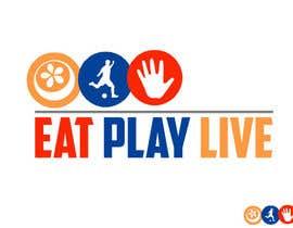 #9 untuk Design a Logo for EAT.PLAY.LIVE oleh RaviBhatti